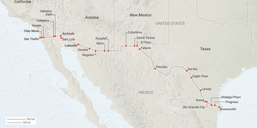 On Closing the US-Mexican Border