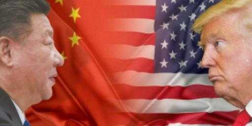 US-China Tensions Escalating
