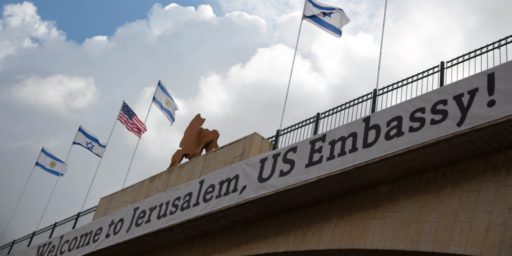 U.S. Opens Embassy In Jerusalem Amid Massive Deadly Protests In Gaza