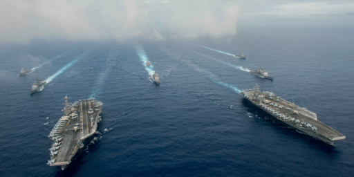 U.S. Navy Reviving Atlantic Fleet