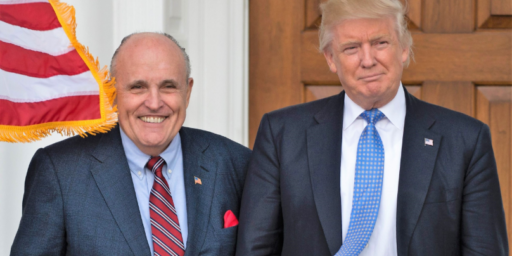 Giuliani Tries To 'Clarify' His Statements After Trump Throws Him Under The Bus