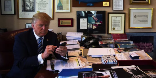 Trump Resisting Efforts To Restrain His Use Of Unsecured Smartphones