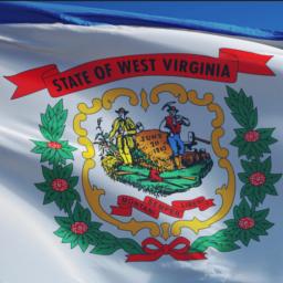 West Virginia Flag Ron Desantis Opens Mouth Inserts