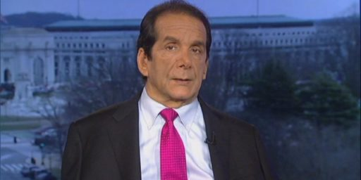 Charles Krauthammer Announces He Is Dying Of Cancer