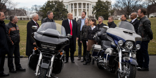 Responding To Trump's Trade War, Harley-Davidson To Move Manufacturing Overseas