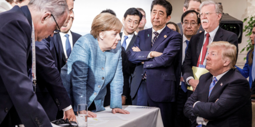 Trump Blows Up The G-7