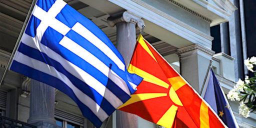 Greece And Macedonia Settle Three-Decade Long Name Dispute