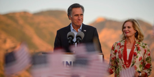 Mitt Romney Easily Wins Utah Senate Primary
