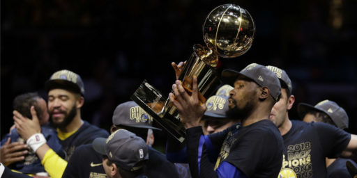 Warriors Win NBA Title, As Expected