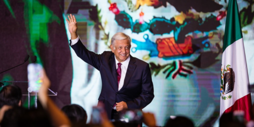 Populist Wins Landslide In Mexican Presidential Race