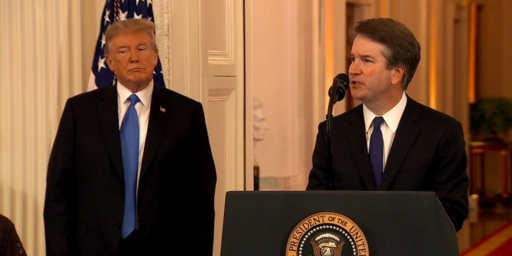 Trump Nominates Judge Brett Kavanaugh To Replace Anthony Kennedy