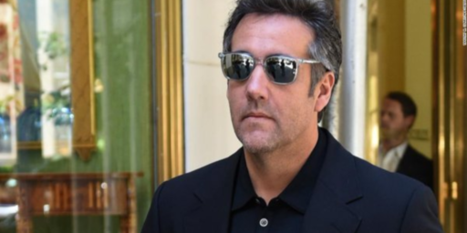 Michael Cohen Heads To Capitol Hill