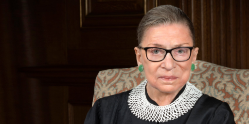 Ruth Bader Ginsburg Not Going Anywhere