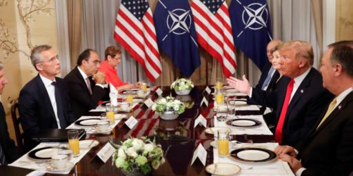 Trump Trashes NATO, Demands Increases In Defense Spending