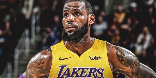 LeBron James Joins the Lakers