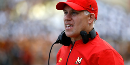 University Of Maryland Football Coach Suspended Amid Reports Of 'Toxic Culture'