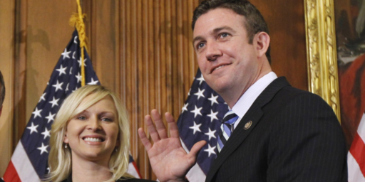 Duncan Hunter Blames Wife, Deep State, For Embezzling Campaign Funds