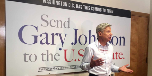 Gary Johnson Enters Senate Race In New Mexico