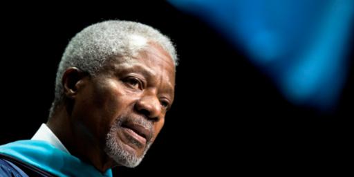 Kofi Annan, Former U.N. Secretary-General, Dies At 80