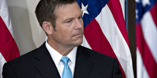 Trump Favorite Kris Kobach Holds Narrow Lead In Kansas GOP Primary