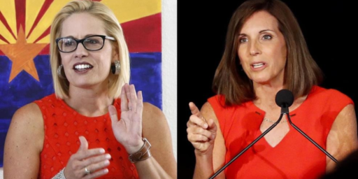 Republicans Dodge Two Bullets In Arizona Senate Primary