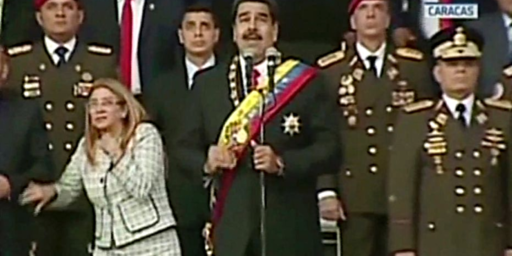 Venezuelan President Nicolás Maduro Targeted In Apparent Assassination Attempt