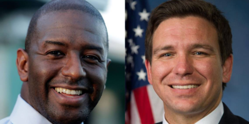 Florida Sets Up Governor's Race Between Trump Republican And Black Progressive Democrat