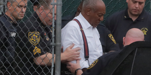 Bill Cosby Sentenced To Up To Ten Years In Prison