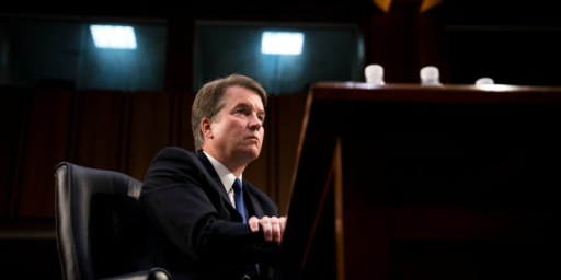 Kavanaugh Nomination At An Impasse Over Hearing On Sexual Assault Charges