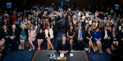 Kavanaugh Sails Through First Day Of Questioning Unscathed