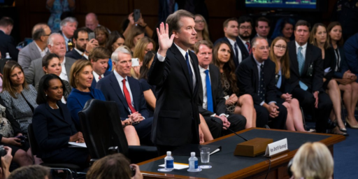New Allegations Begin A Crucial Week For Brett Kavanaugh