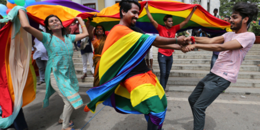 India's Supreme Court Strikes Down Colonial Era Anti-Gay Law