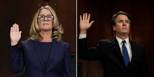 Ford/Kavanaugh Hearing Ends With Questions, Doubts, And Only One Option