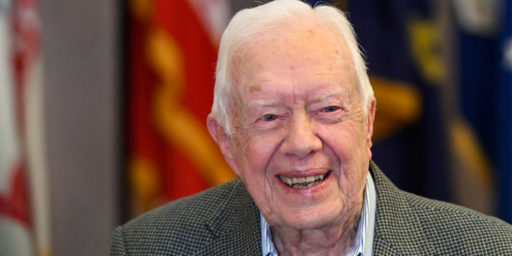 Former President Carter Warns His Party Against Drifting To The Left