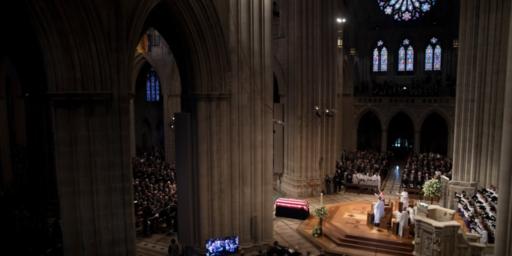 Washington Bids Farewell To John McCain