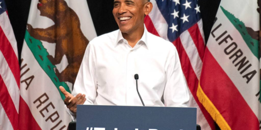 Obama Hits The Campaign Trail