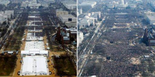 Trump Administration Pressured National Park Service To Edit Inauguration Day Photos