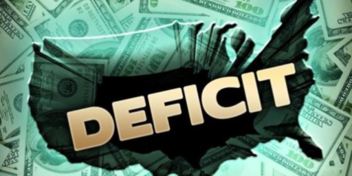 Federal Budget Deficit Heads Back Up Under Republican Rule