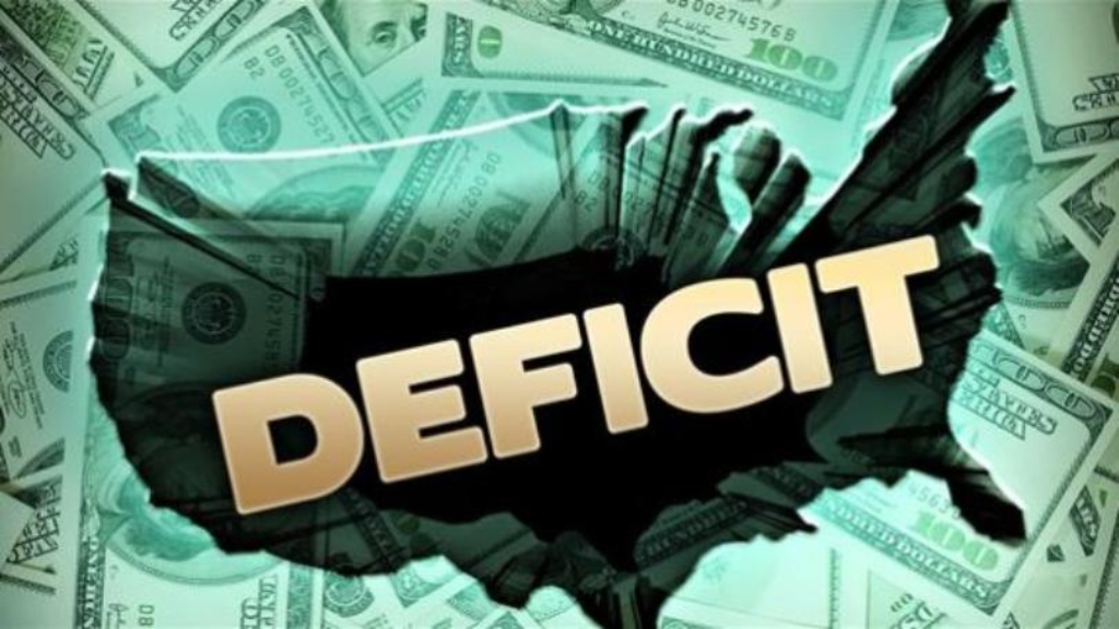 United States budget deficit tops $1 trillion