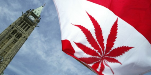 Marijuana Legalization Takes Effect In Canada