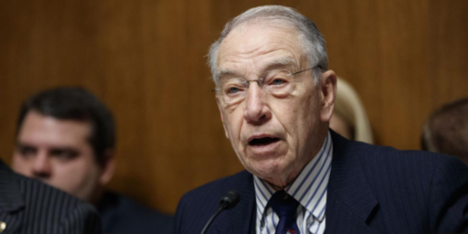 Chuck Grassley Says He Wouldn't Consider SCOTUS Nominee In 2020