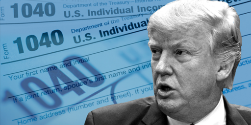 Justice Department Legal Arguments For Withholding Trump Tax Returns Lack Merit