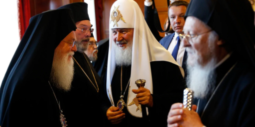 Eastern Orthodox Schism Grows Wider