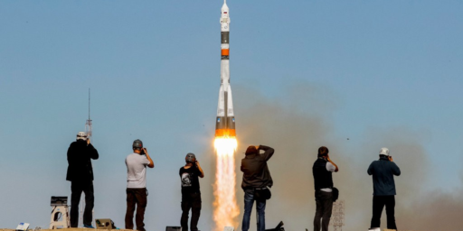 Malfunction Leads Soyuz Mission Carrying Men To The ISS To Abort