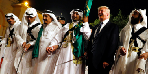 In The Khashoggi Crisis, Trump's Greed And Moral Cowardice Are On Full Display