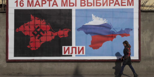 "Nobody ""Lost"" Crimea. It Was Never Ours To Lose."