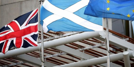 Poll Shows Scots Supporting Independence As The U.K. Stumbles Toward Brexit