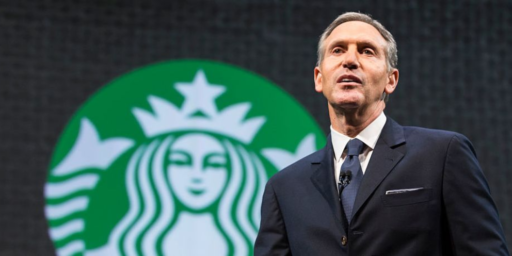 Starbucks Founder Howard Schultz Considering Presidential Run