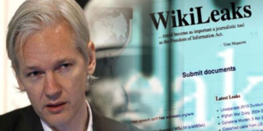 Federal Government Inadvertently Reveals Sealed Indictment Against Julian Assange