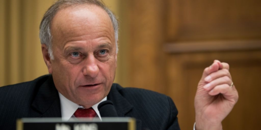 Racist Congressman Steve King Wonders What's So Bad About Being A Racist